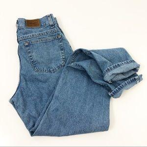 VTG LL.Bean Mom Jeans High Rise Wedgie Fit 30x32